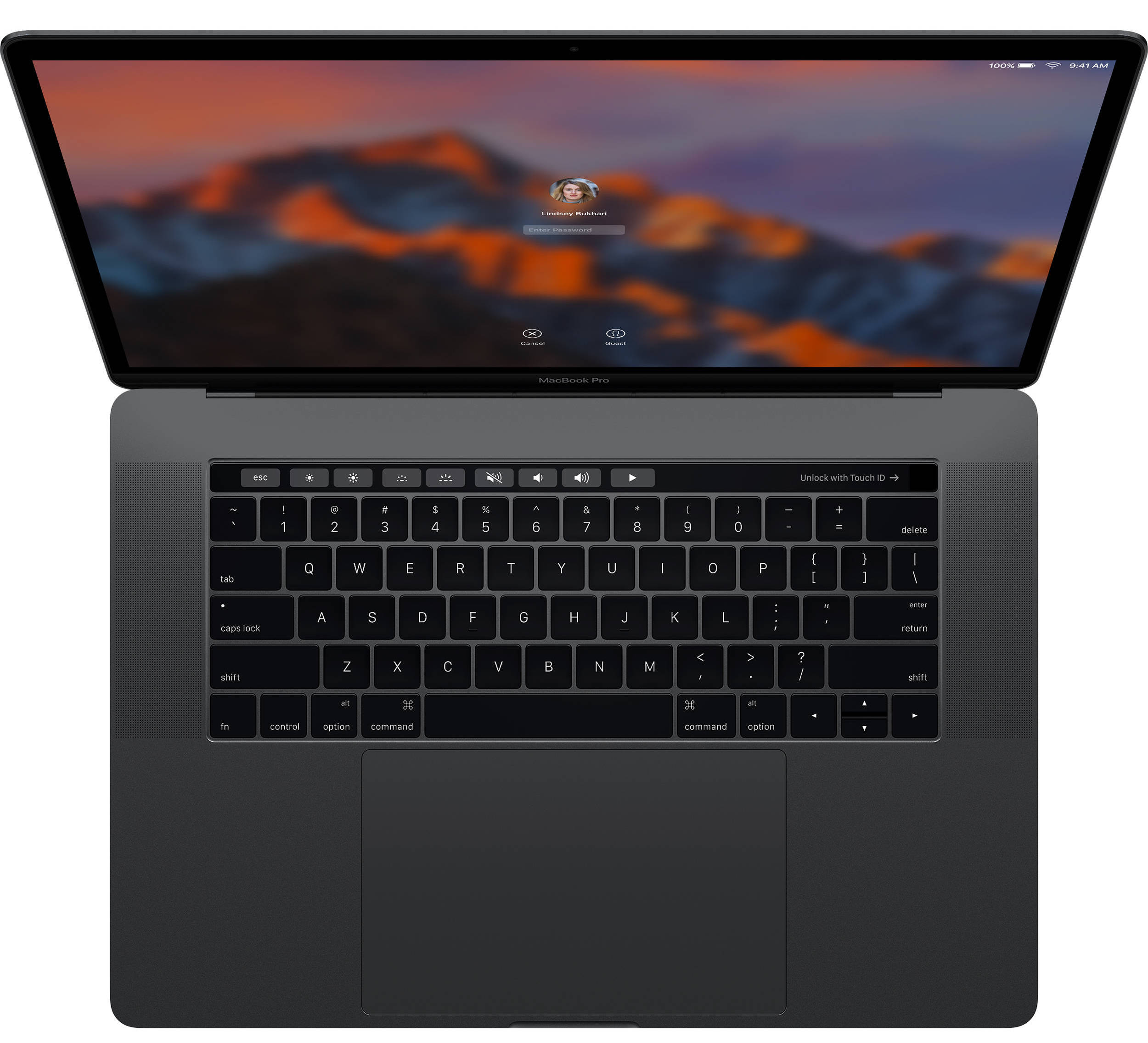 MacBook Pro 15 Touch Bar MLW82 SILVER Hàng FPT