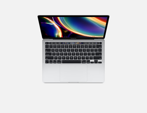 MacBook Pro MXK62 13in Touch Bar 256GB Silver- 2020