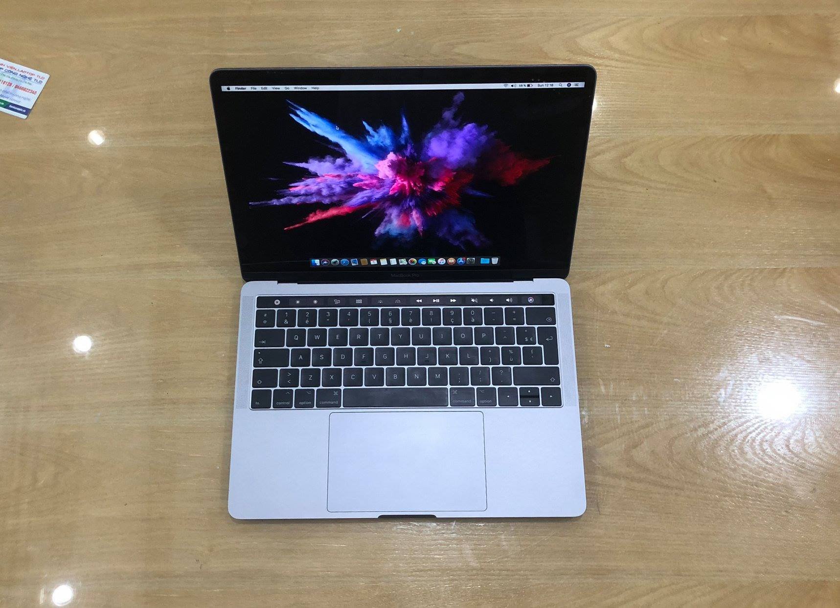 MacBook Pro 13 Touch Bar MPXW2  Gray i7 3,5Ghz, Ram 16GB