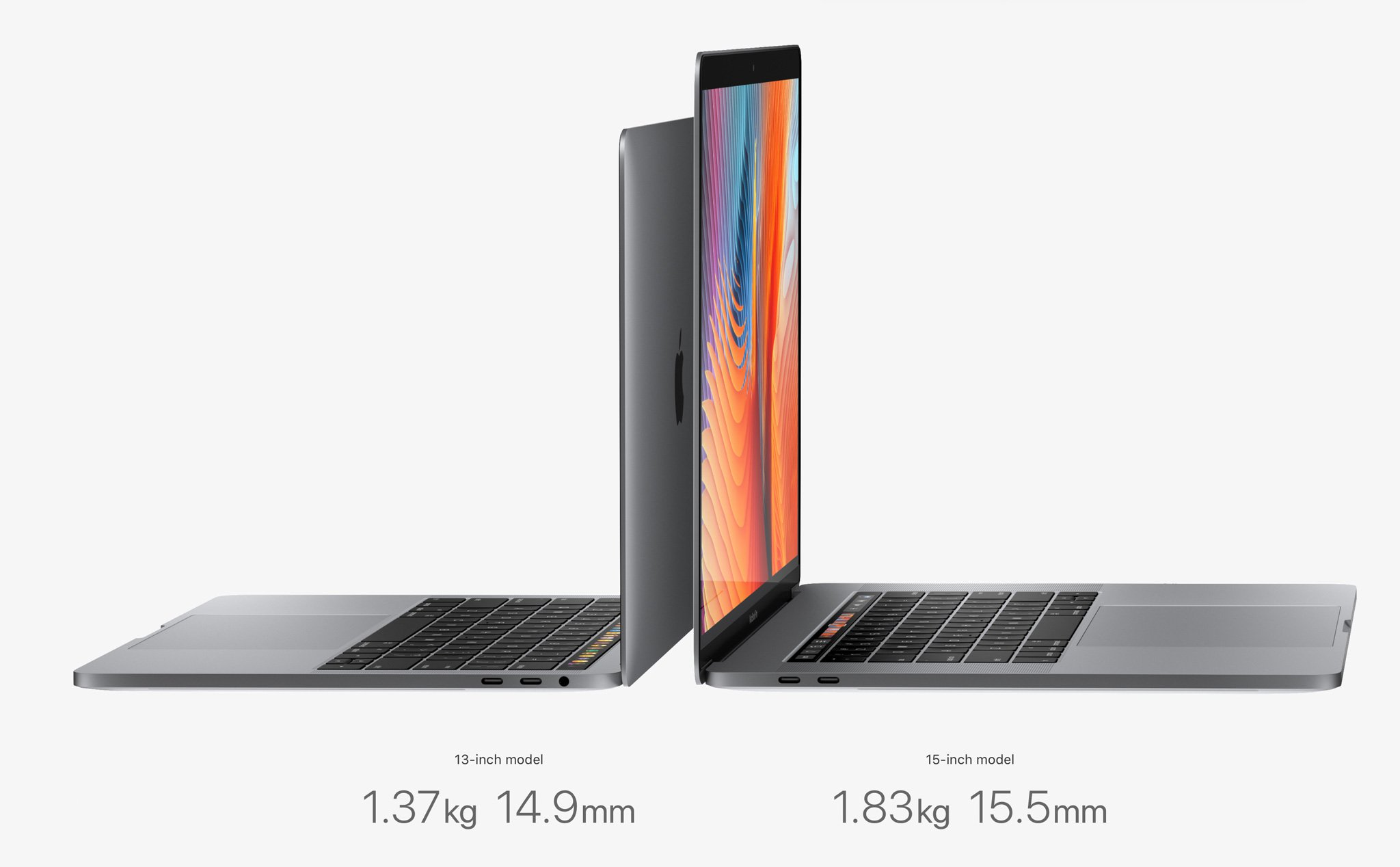Macbook Retina 15 inch TouchBar MLW72 (Sliver)