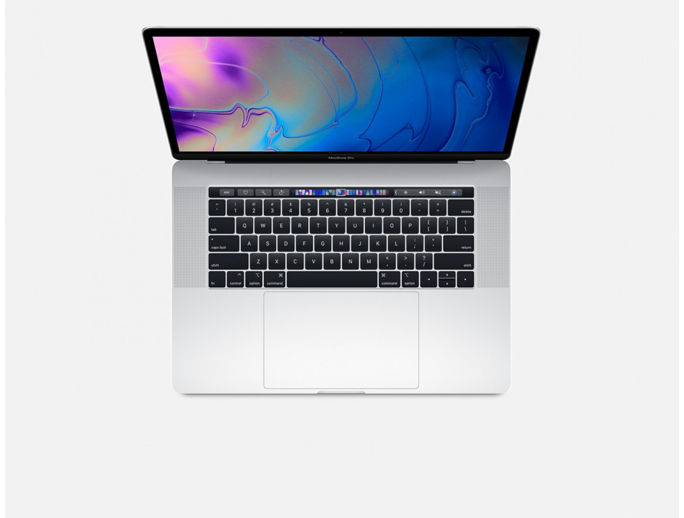 MacBook Pro MV922 15in Touch Bar Silver- 2019