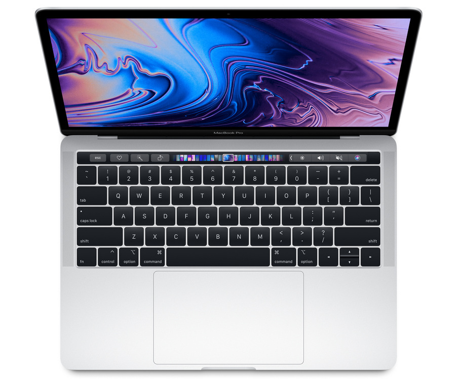 Macbook Pro MUHQ2 13-inch Touchbar 128G Silver- 2019