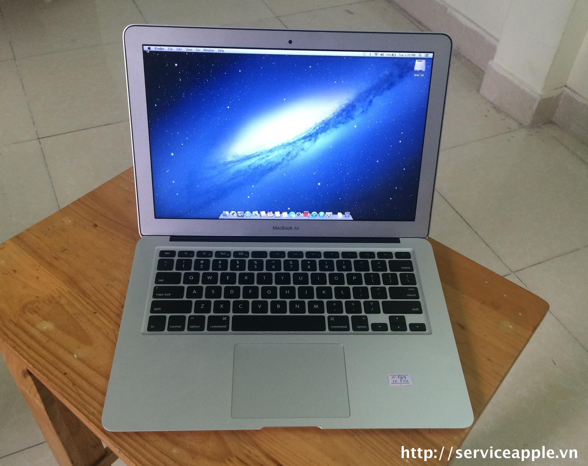 Macbook Air A1369 SSD128 hàng USA