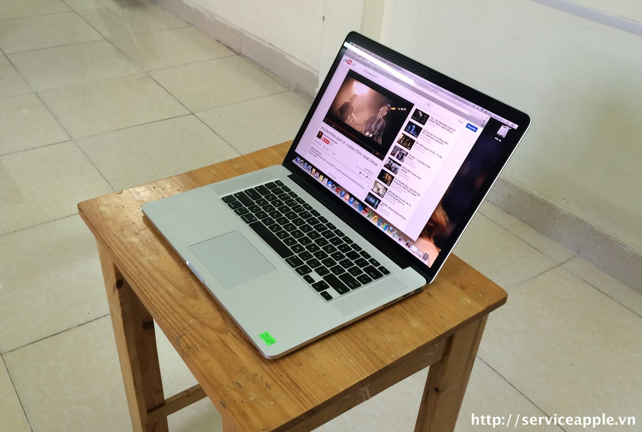 Macbook Pro retina 15 MC976