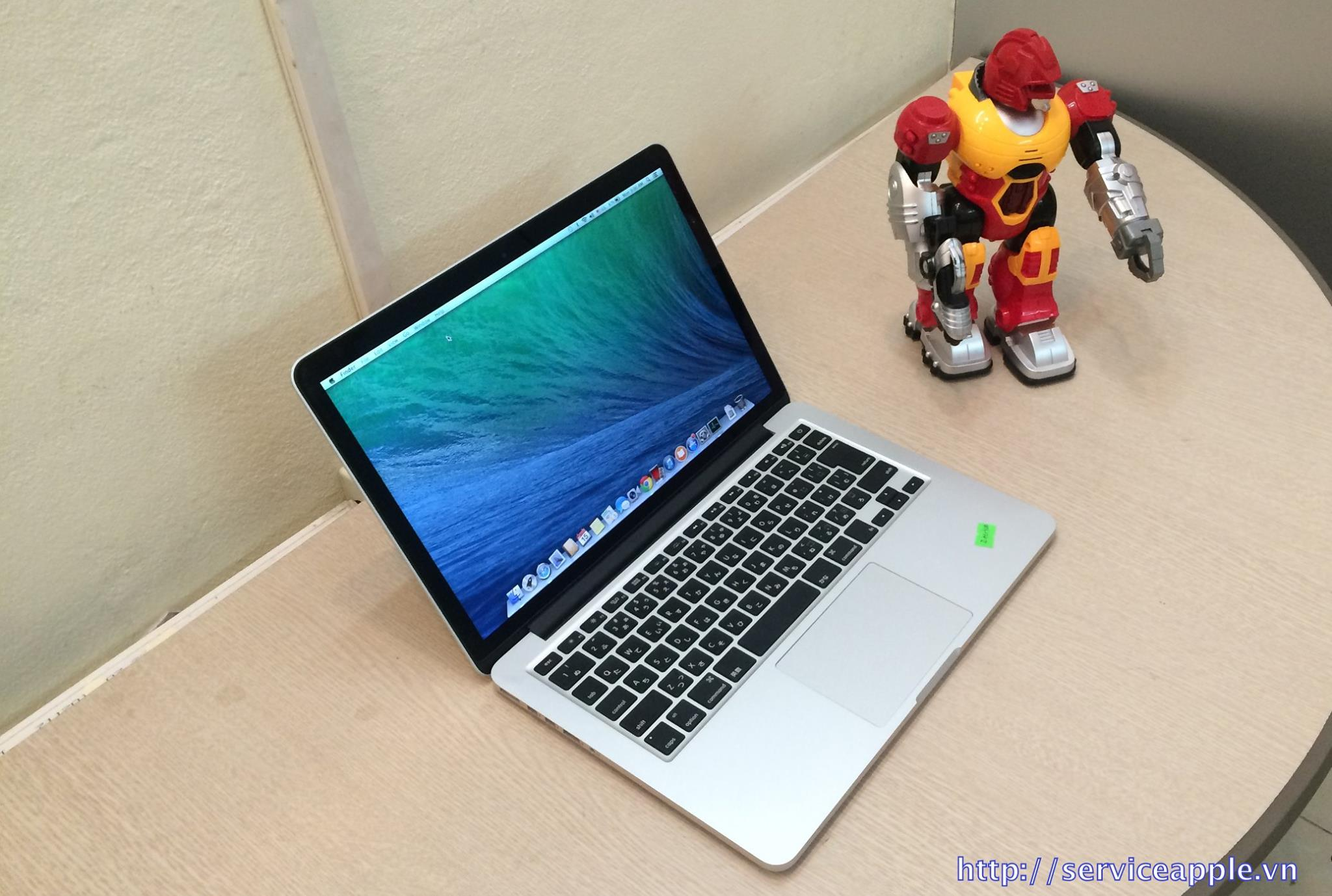 Macbook Pro Retina MD212 Full Option Ram 8GB