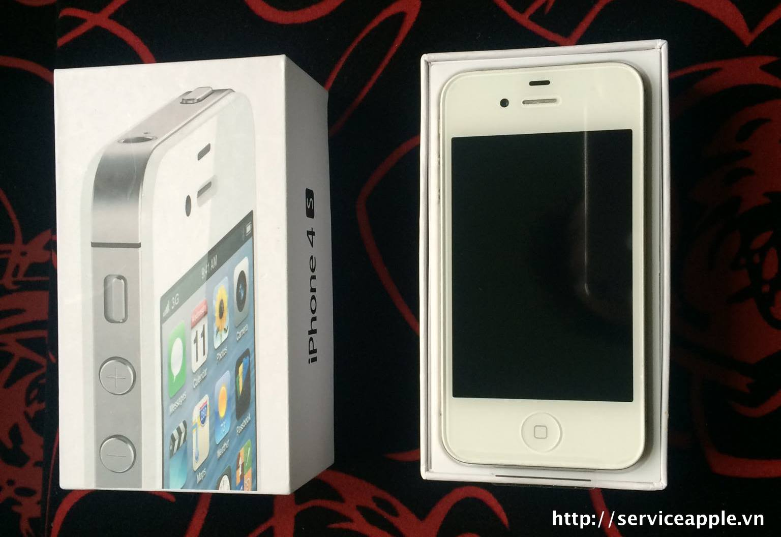 iPhone 4S 16GB Trắng Like New