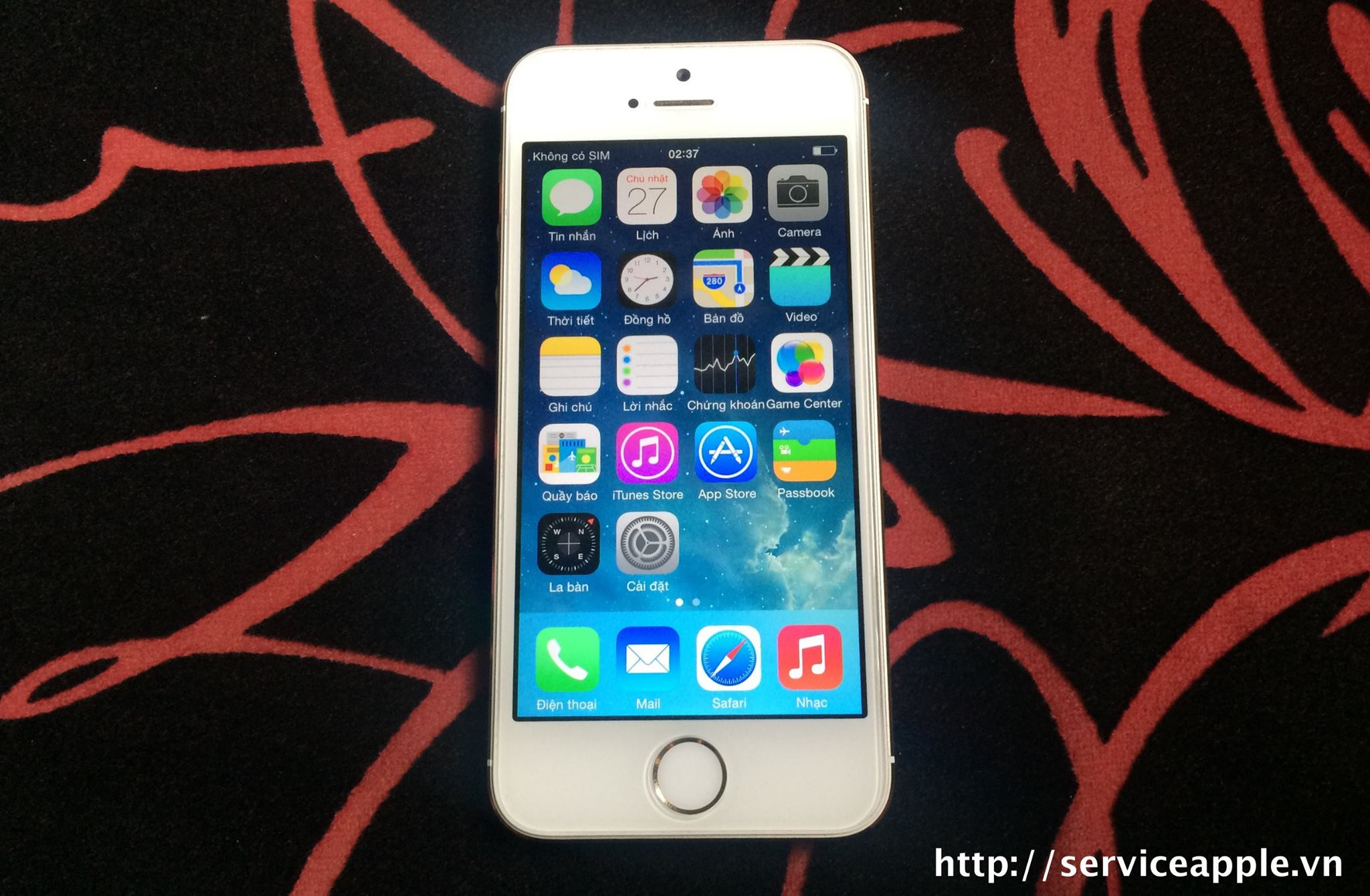 iPhone 5S 16GB Glod Quốc Tế Like New