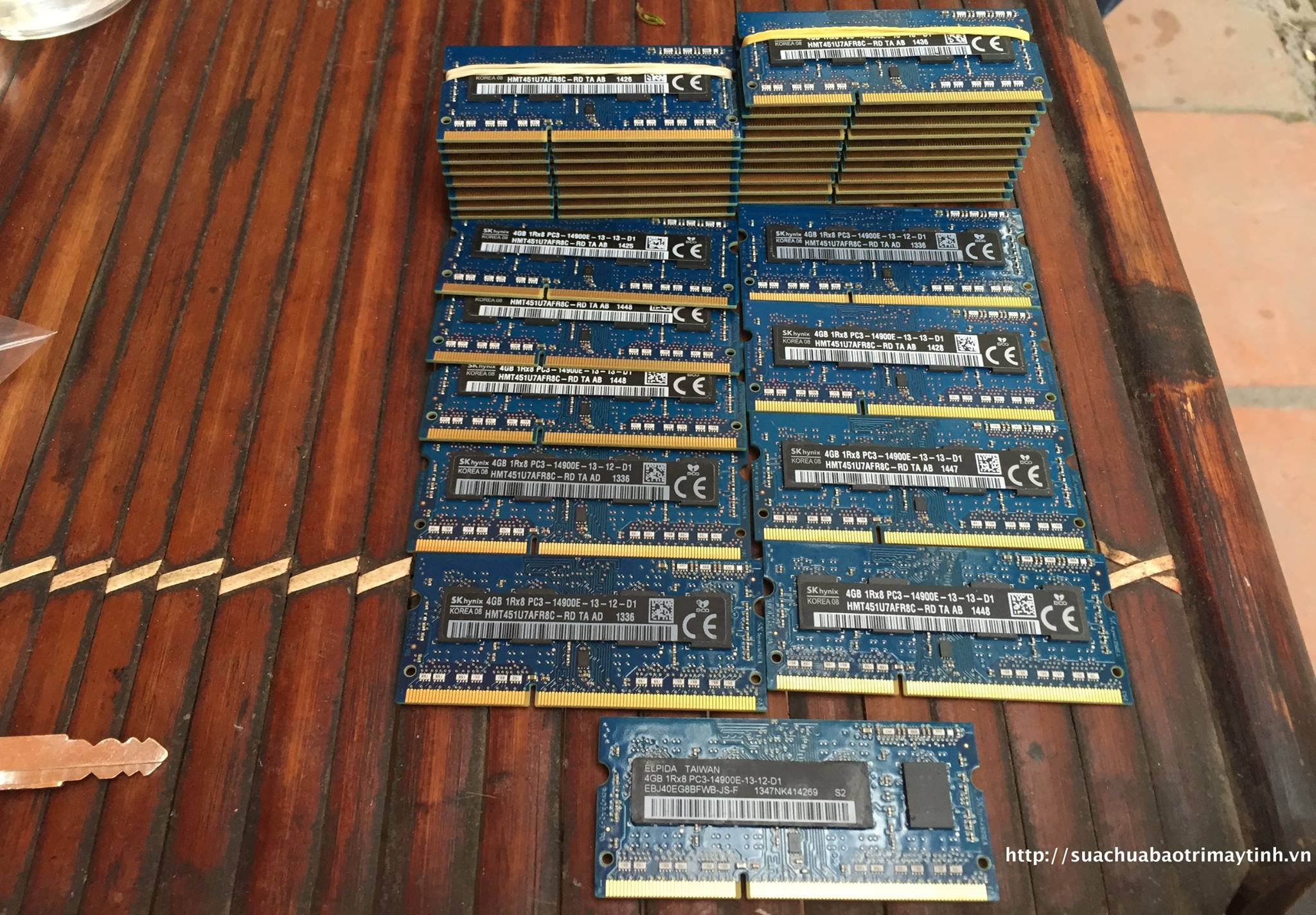 Ram Macbook 4GB SK Hynix 14900 PC3L Buss 1866Mhz