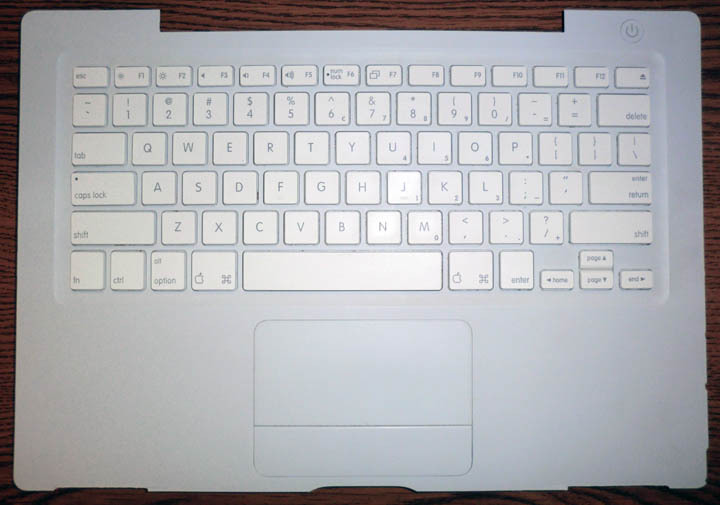 Apple Macbook Keyboard A1181 Trackpad