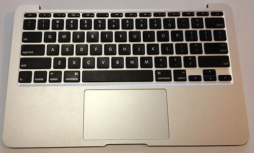 APPLE MACBOOK AIR 11INCH A1370 KEYBOARD TOPCASE 2010, 2011 MODEL