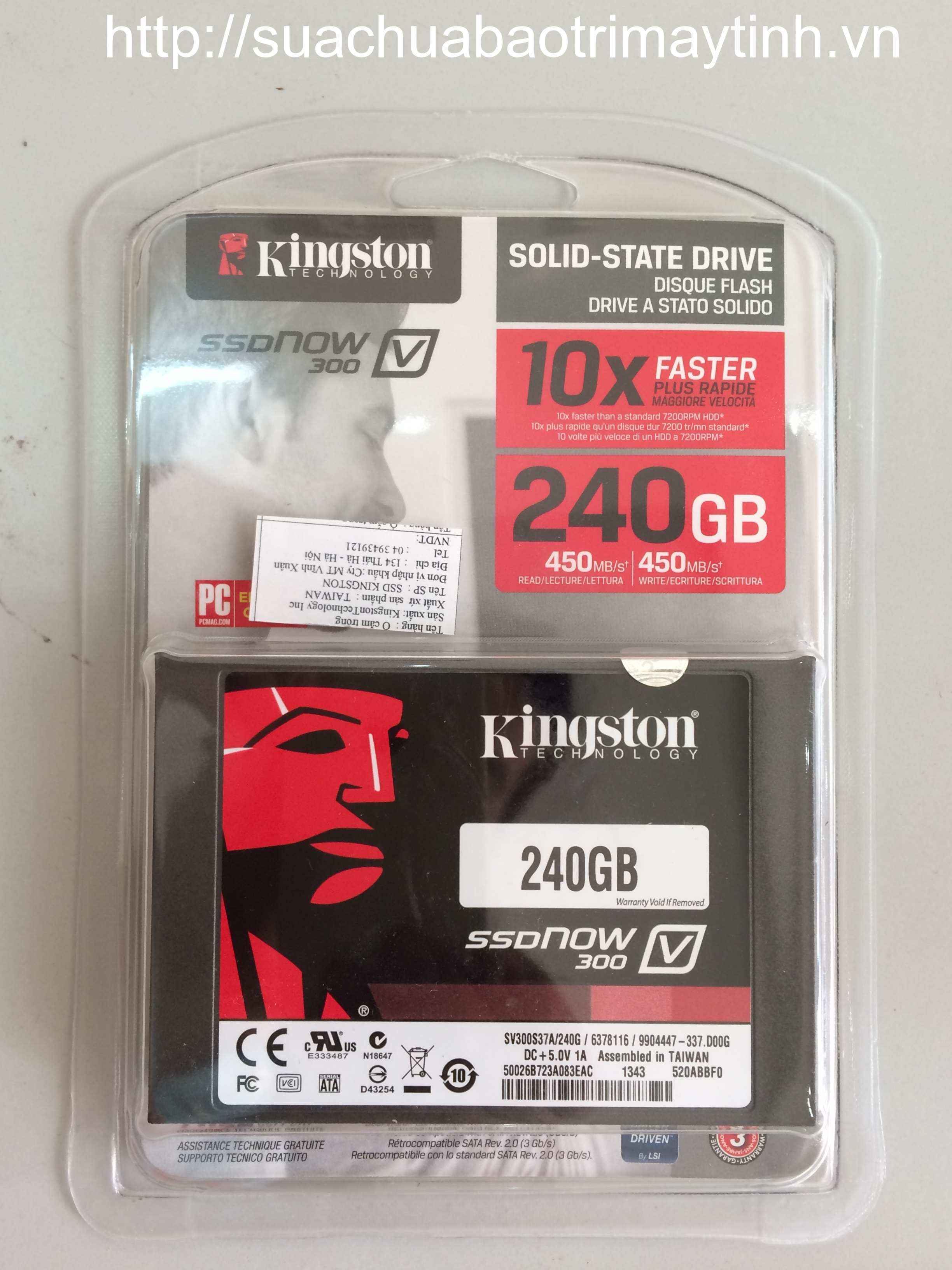 Ổ cứng SSD 240GB Kingston 300V