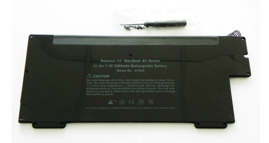 "Battery for Apple MacBook 13"" Air A1245 A1237"