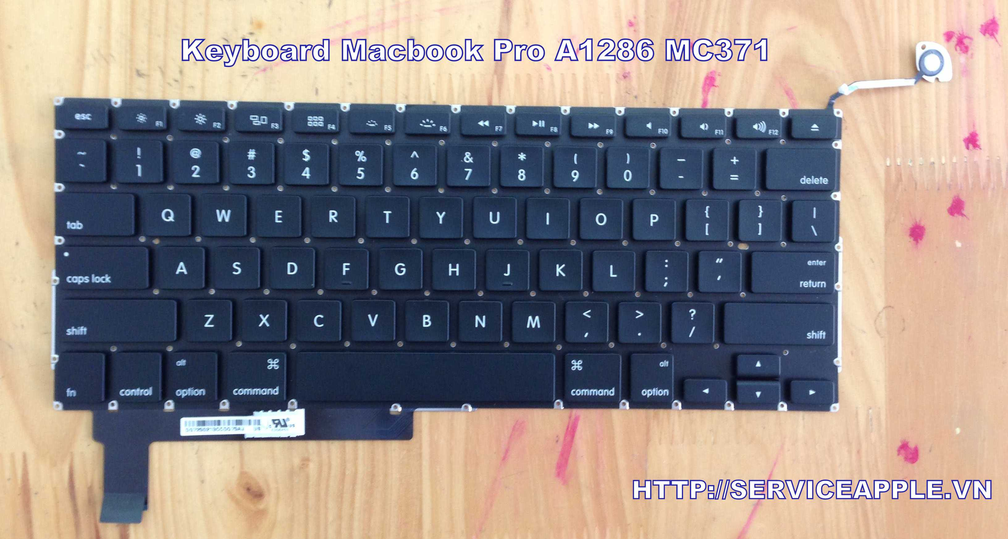 Keyboard Macbook pro a1286.JPG