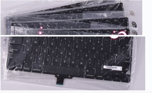 MacBook Pro Unibody A1278 US Black Keyboard 2009 2010 2011