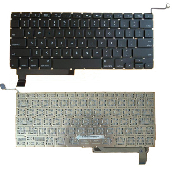MacBook Pro Unibody A1286 US Black Keyboard 2009 2010 2011