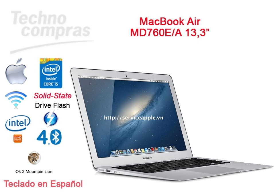 Macbook Air A1466 MD760