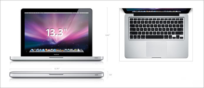 Macbook Pro MB133 - T8300/ram2GB