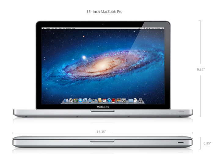 "MacBook Pro 15 inch ""Core i5″"