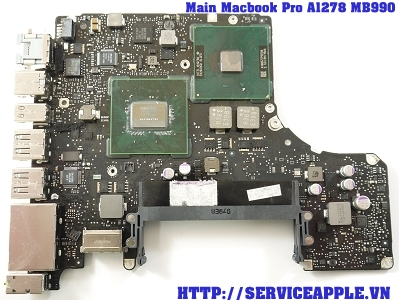 Main Macbook Pro A1278 MB900 2009