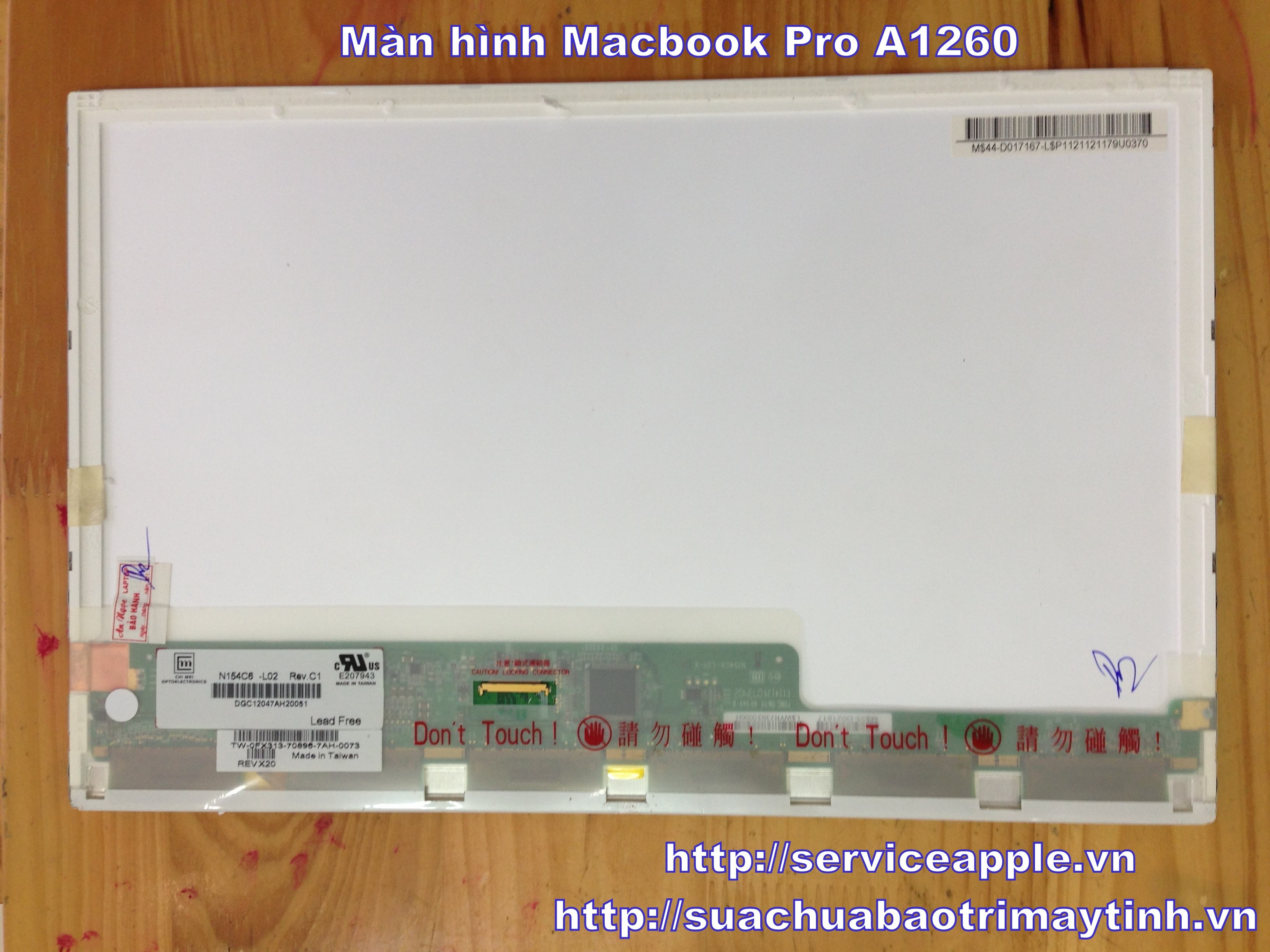 Man hinh Macbook Pro A1260.JPG