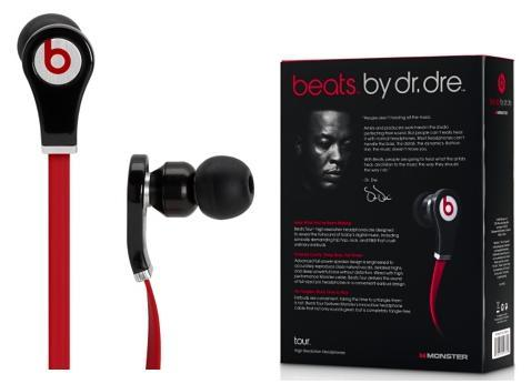 Beats. by dr.dre tour (red)