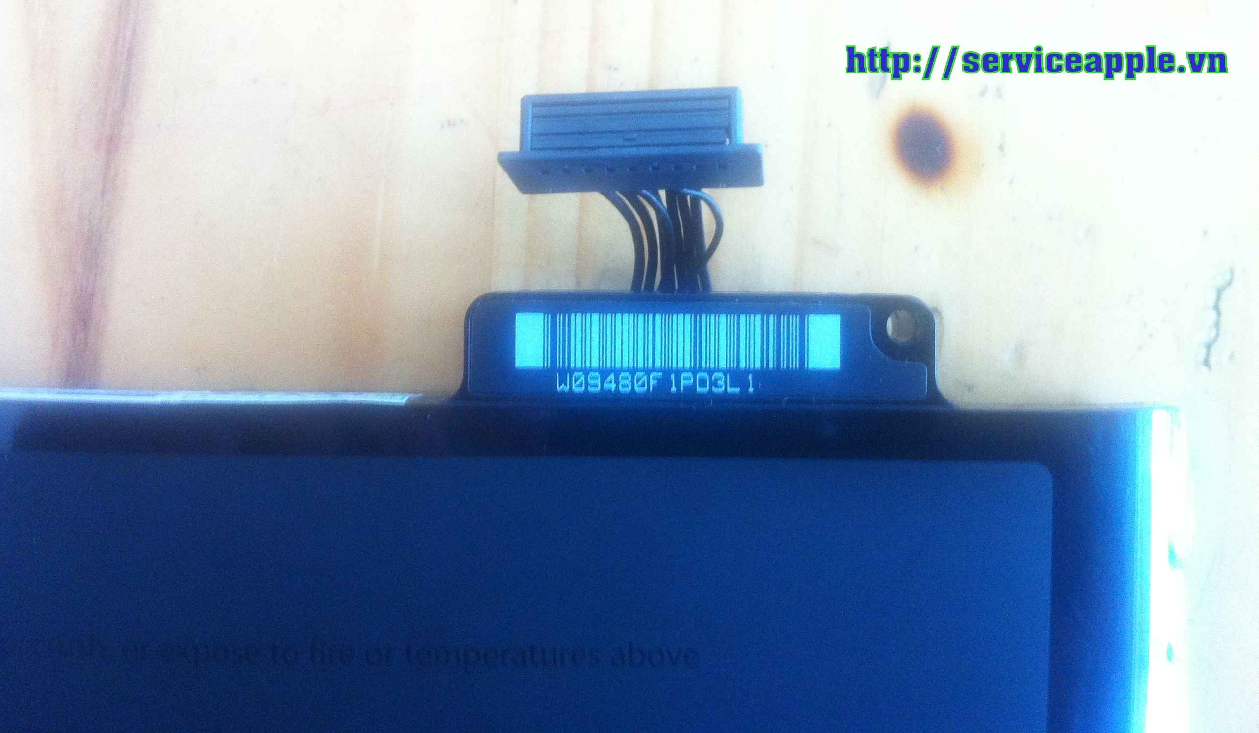 Pin macbook A1278 chinh hang.JPG