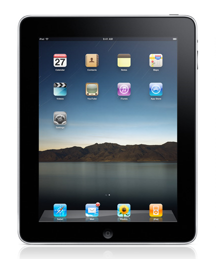 Apple iPad (Apple A4 1GHz, 64GB Flash Drive