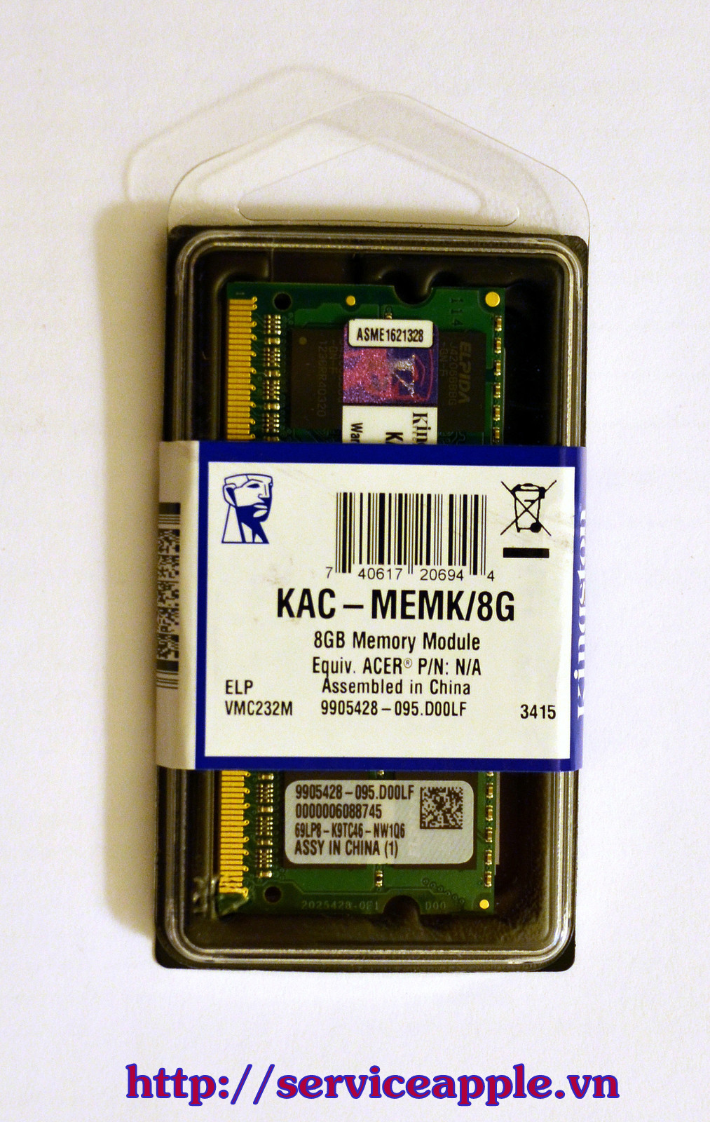 Kingston 16GB buss 1600