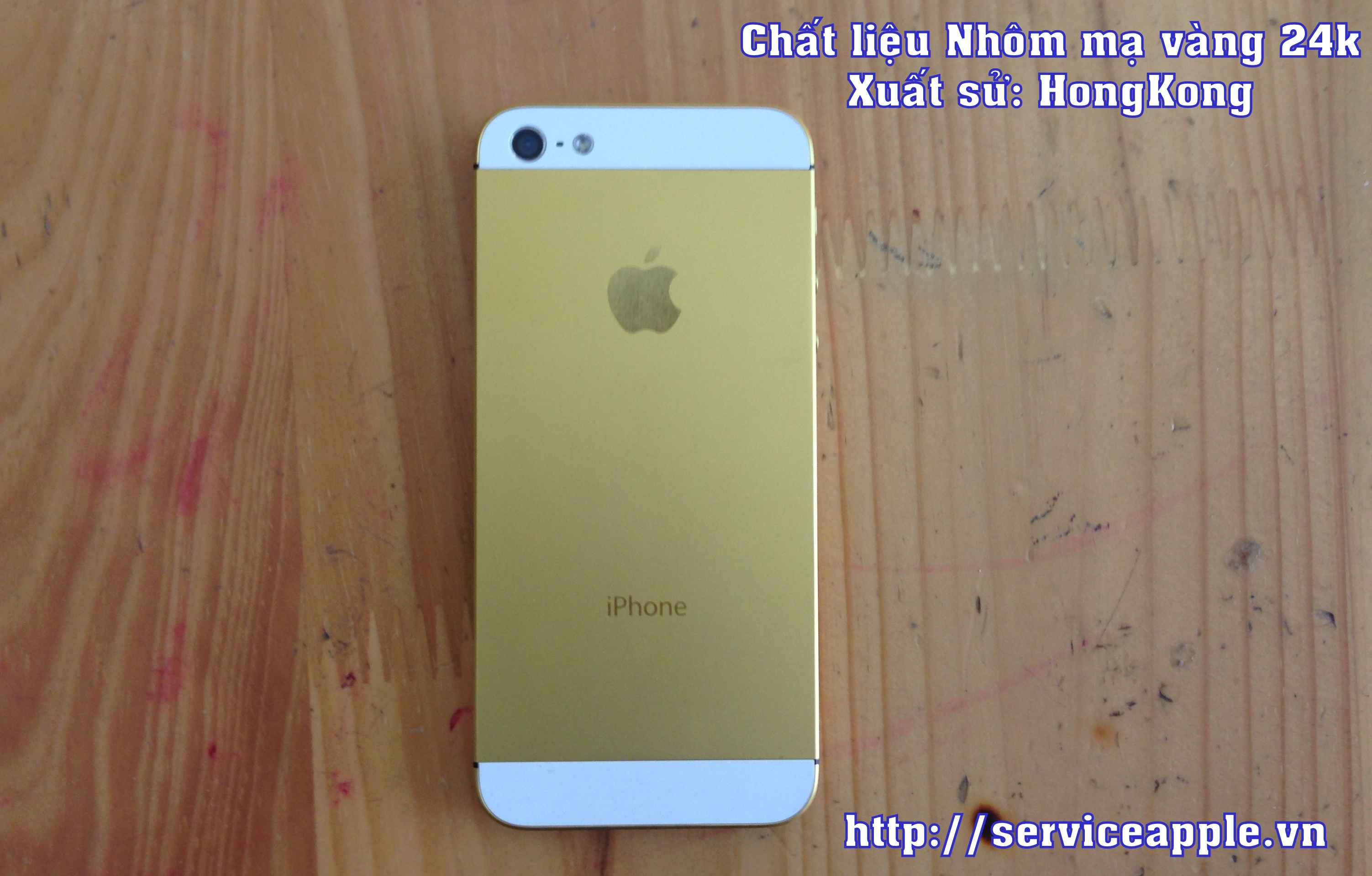 thay vo iphone 5 vang 24k.JPG